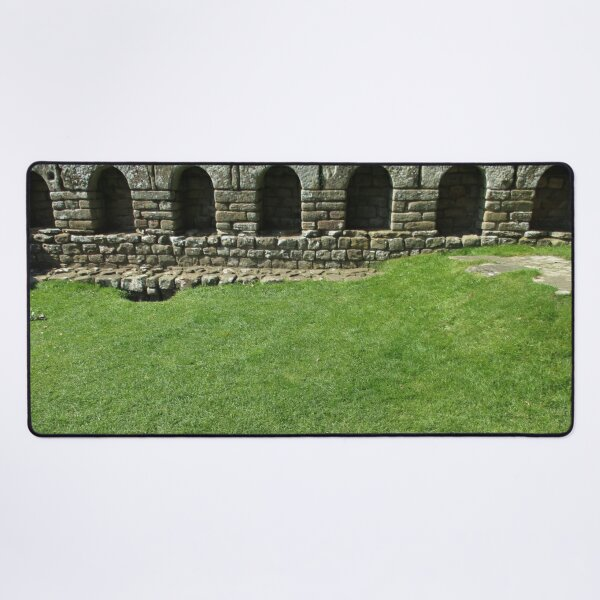 M.I. #112 |☼| The Changing Hall - Shot 1 (Hadrian's Wall) Desk Mat