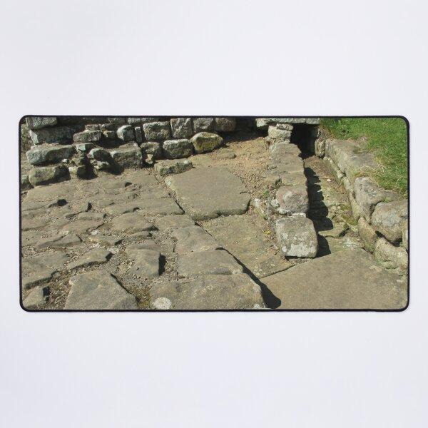 M.I. #110 |☼| Rocks And Bricks - Shot 12 (Hadrian's Wall) Desk Mat
