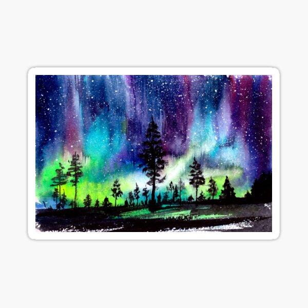 Northern Lights Aurora Borealis Sticker