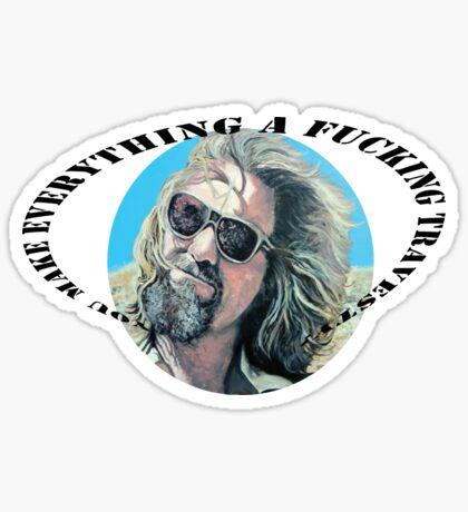 F'N Travesty Sticker