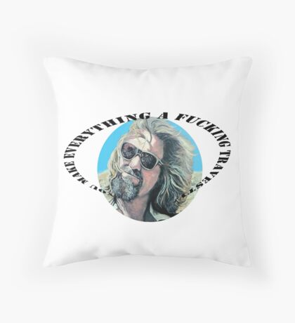 F'N Travesty Throw Pillow