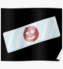 Dexter Smiley Blood Slide Poster
