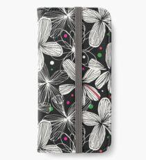 Black & white iPhone Wallet/Case/Skin