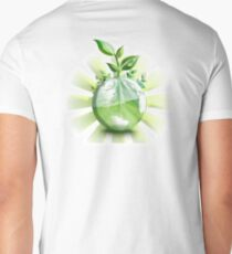 Ecology, Earth science, Environment, Eco, Ecosystems, Green Men's V-Neck T-Shirt