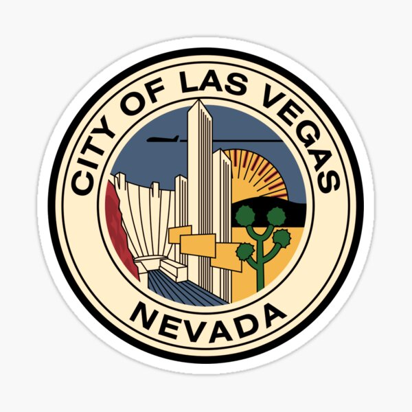Vintage Las Vegas Nevada Sticker