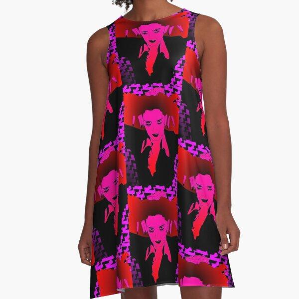 Rocky Horror Pop Art - A Domestic A-Line Dress