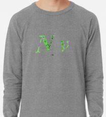 Nu Greek Aphabet Lightweight Sweatshirt