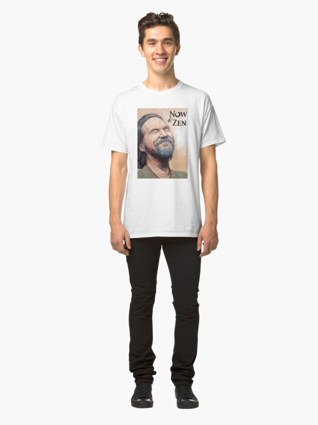 Alternate view of The Dude Now & Zen Classic T-Shirt