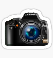Camera, DSLR, Photography, Photographer Sticker