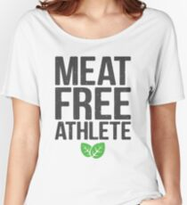 Meat free athlete Women's Relaxed Fit T-Shirt