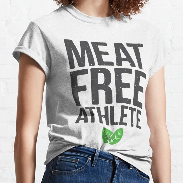 Meat free athlete Classic T-Shirt