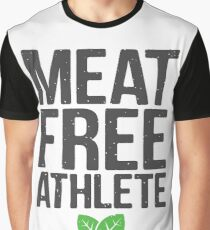 Meat free athlete Graphic T-Shirt
