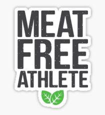 Meat free athlete Sticker