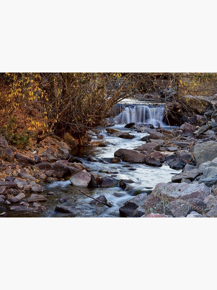 Waterfall On Beautiful Boulder Creek by mrbo