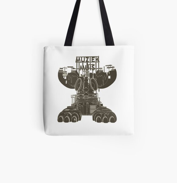 Music Mouse Toon shade All Over Print Tote Bag