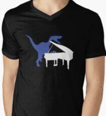 Velociraptor Playing Piano T-Shirt