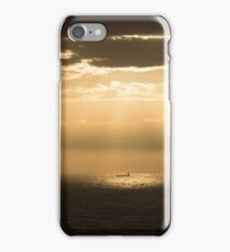 Pentland Firth nearing Sunset iPhone Case/Skin