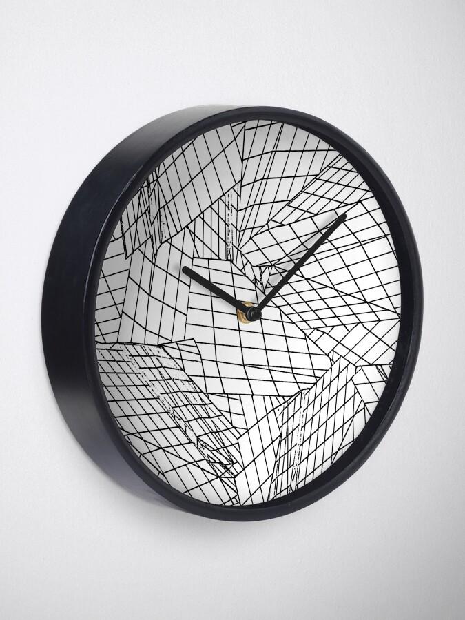 Alternate view of Angles- White Clock