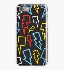 Colorful thunder bolts iPhone Case/Skin