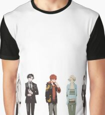 Cutout Group Graphic T-Shirt