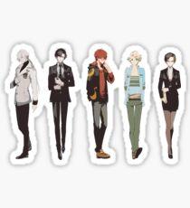 Cutout Group Sticker