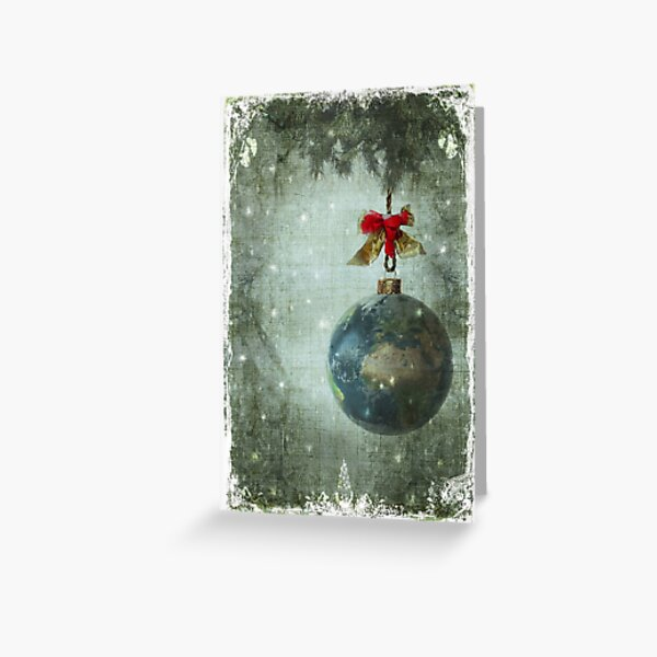 Peace on earth... Greeting Card