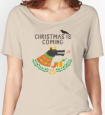 Game of Thrones Christmas, Game of Thrones Christmas Women's Relaxed Fit T-Shirt
