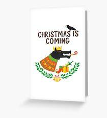 Game of Thrones Christmas, Juego de Tronos Navidad Greeting Card
