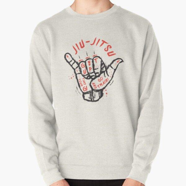 Jiu-jitsu. Go train! Pullover Sweatshirt