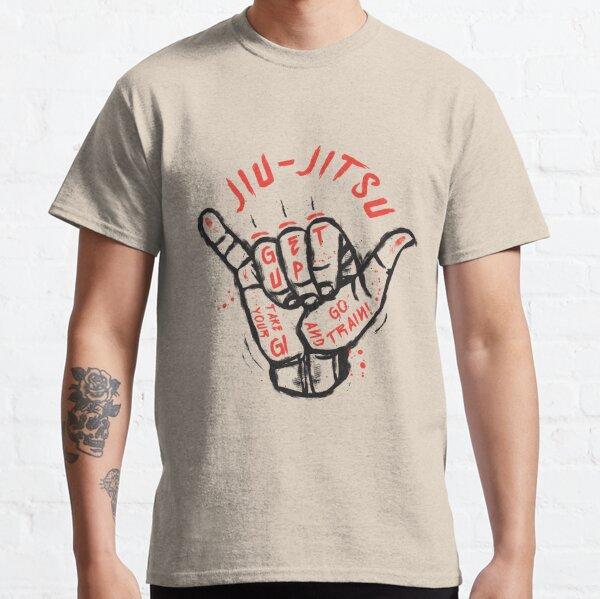 Jiu-jitsu. Go train! Classic T-Shirt