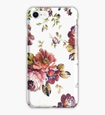 Cute Modern Spring Flower Pattern Girly Floral  iPhone Case/Skin