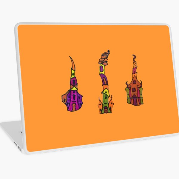 FUN CATHEDRAL ART Laptop Skin