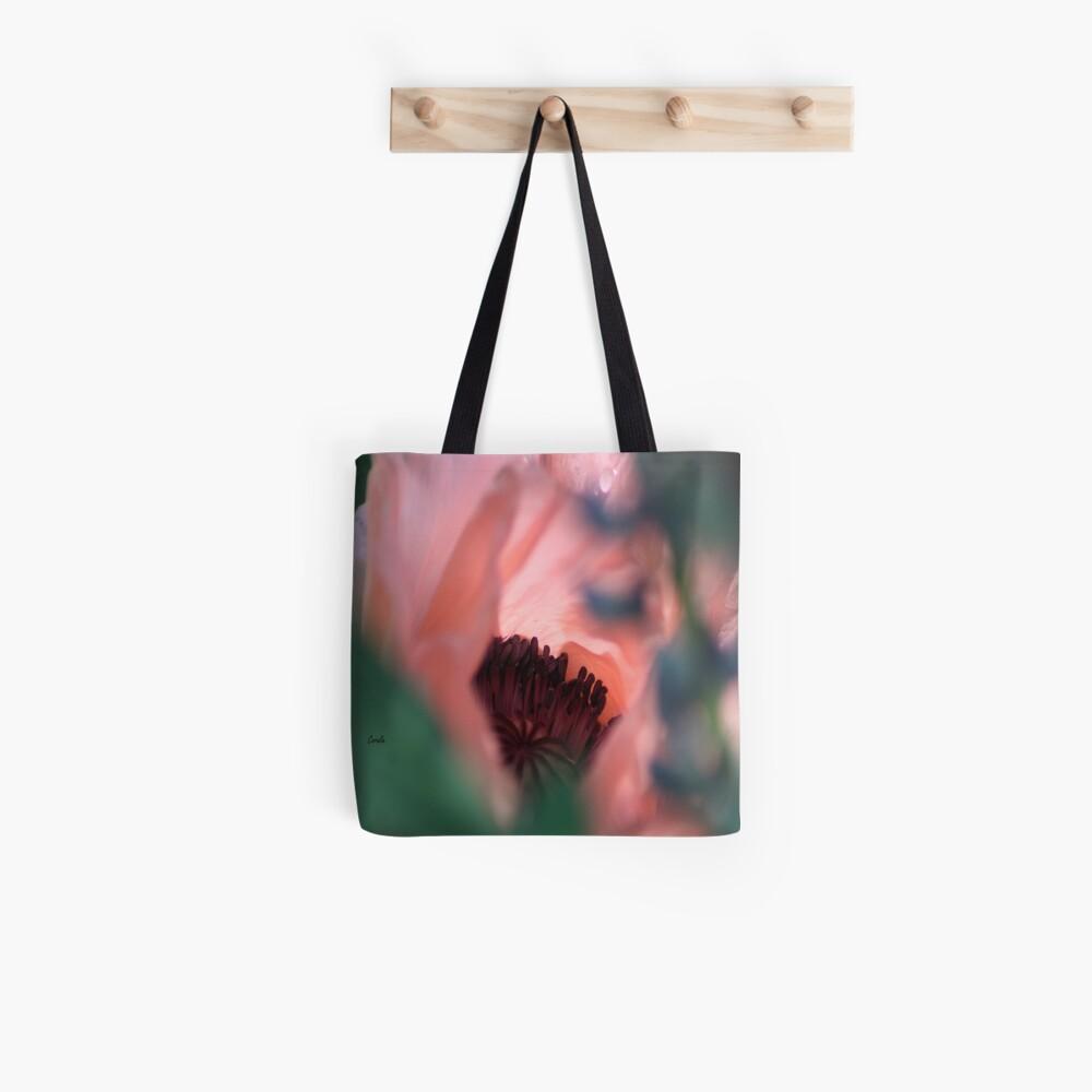 Beauty Of The Poppy Flower Bloom Tote Bag