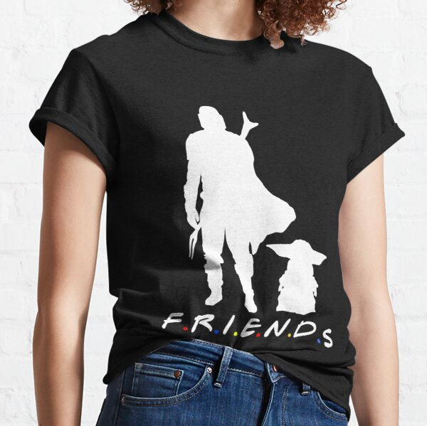 Best Friends I Mando And Baby Gift Love Classic T-Shirt