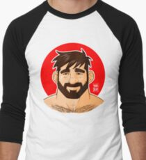 ADAM LIKES HEAD Men's Baseball ¾ T-Shirt