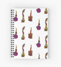 FUN CATHEDRAL ART Spiral Notebook