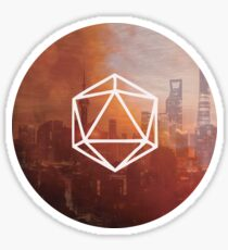 Odesza City 2 Sticker