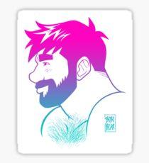 ADAM LIKES RAINBOWS Sticker