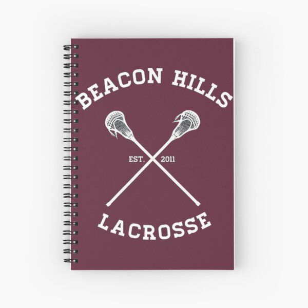 Teen Wolf Lacrosse Spiral Notebook