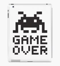 Game over / Pixel art invader iPad Case/Skin