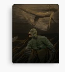 Creature from the Canvas Print
