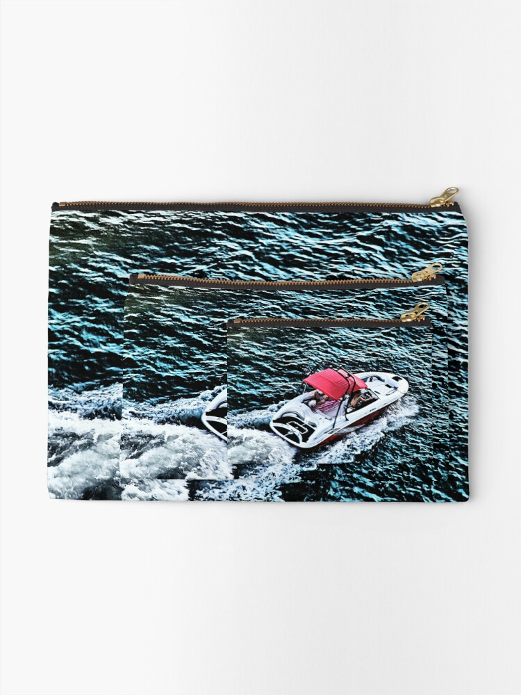 Alternate view of Intracoastal Speedster Zipper Pouch