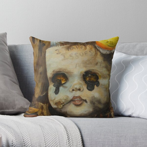 Issues Throw Pillow