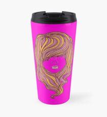 long hair rock Travel Mug