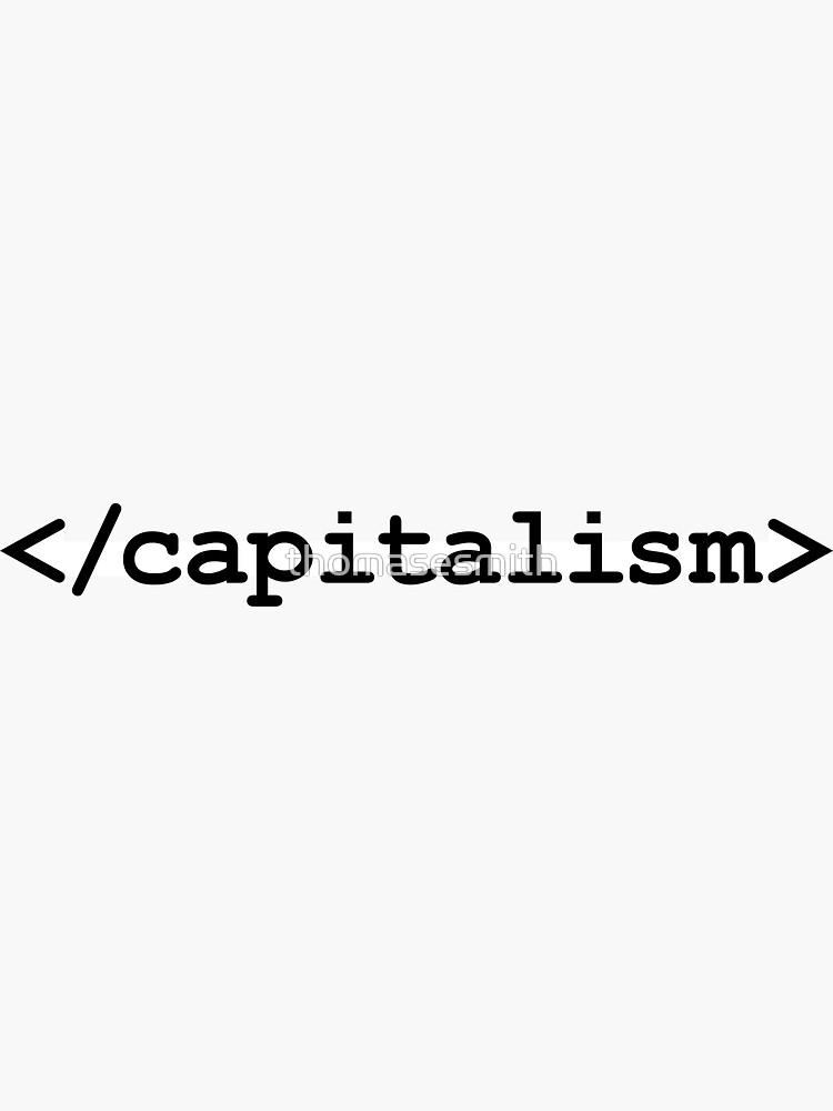 Ende Kapitalismus HTML von thomasesmith