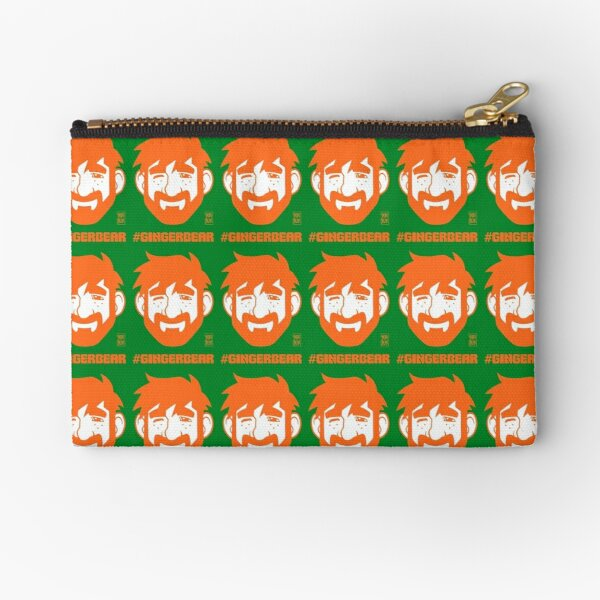 ADAM LIKES GINGER Zipper Pouch