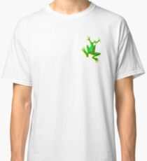 FROG, GREEN FROG, Cartoon, Jumping Jehoshaphat! Help! its the Green frog! Pond life Classic T-Shirt