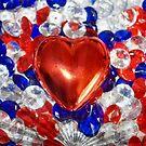 Valentine Glitter Heart by Sheri Nye