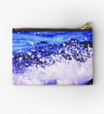 Droplets - evening at Nudgee Beach Studio Pouch