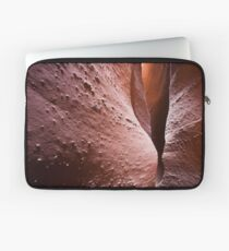 Spooky Curves and Lines, Grand Staircase Escalante, Utah Laptop Sleeve